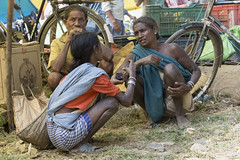 Rural market - Maikal hills - Chhattisgarh - India (wietsej) Tags: people india zeiss rural market sony hills 1670 chhattisgarh a6000 baiga ribal maikal sel1670z