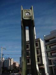 Relgio (Gijlmar) Tags: brazil sky urban clock southamerica brasil portoalegre brasilien cu reloj riograndedosul brasile relgio brsil amricadosul brazili amriquedusud amricadelsur