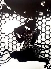 MBosley_AtomicCitydetail2 (TheWayThingsWere) Tags: silhouette paperart silhouettes papercut papercuts papercutting mollybosley