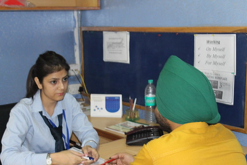 One one IELTS speaking session at LinguaSoft Edutech Chandigarh