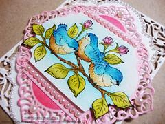 Fluffy Birdies Card 2 (Nupur Creatives) Tags: heartfelt creations heartfeltcreations