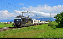 Re 465 018-0 Neyruz, 28.05.16 (rodsteve232) Tags: re465 bls railcare coop oensingen vufflenslaville 0180 ros neyruz
