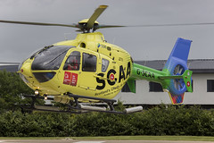 G-SCAA - Scotland's Charity Air Ambulance (Sam TH Millar) Tags: charity scotland air ambulance 135 eurocopter t2 gscaa