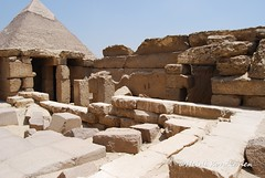 Store rooms of the pyramid (konde) Tags: architecture ruins giza ancientegypt menkaure mortuarytemple oldkingdom 4thdynasty pyramidcomplex