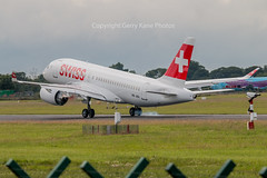 Swiss International Air Lines Bombardier BD-500-1A10 CS100 HB-JBA C-N 50010 EIDW 300616 (gerrykane214) Tags: bombardier swiss international air lines cs100 dublin airport ireland june 30th 2016 commercial aviation delivery flight