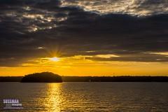 Sunset at Old Federal Park (The Suss-Man (Mike)) Tags: sunset sky lake nature water clouds georgia unitedstates lanier lakelanier hallcounty flowerybranch thesussman oldfederalpark sonyslta77 sussmanimaging northgeorgiaphotographyclub