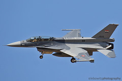Iraqi Viper at Tucson Intl. Airport (JetImagesOnline) Tags: iraqi air force viper f16 fighting falcon jet fighter tucson international airport lockeed martin