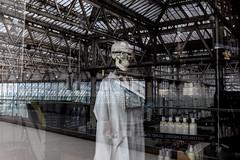 _DSF9754 (travelstreetmodel) Tags: london londonstreetphotography skull skeleton reflection weird creepy fujixt1 fuji23mm