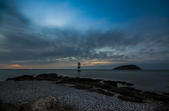 (Glen Parry Photography) Tags: nikon d7000 sigma sigma1020mm glenparryphotography longexposure sea coast coastline beach penmon anglesey sky rocks light northwales wales night nightphotography