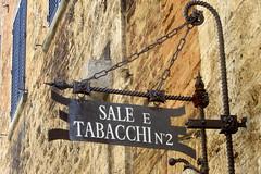 Sale e Tabacchi N 2 (magister111) Tags: italy signs wroughtiron sangimignano toscana