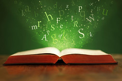 open-book-with-words-ThinkstockPhoto (sarahmepstein) Tags: thinkstock book reading words alphabet open