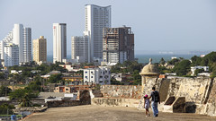 Cartagena de Indias - Colombia (Max Bauwens Photographie) Tags: city contrast canon eos colombia cityscape cartagena caribe colombie caraibe
