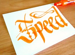 Speed. #handlettering #handwriting #Hanmade #Lettering #Letters #marker #sharpie #ILoveCalligraphy #Calligraphy #doodle #art #design #ink #handstyles #calligraffity #HandType #escritura #tipographyinspired #pencil #sketch #paper #tagname (OscarInk25) Tags: art pencil ink handwriting paper typography design sketch letters tools doodle marker sharpie lettering calligraphy tatto blackletter handlettering handstyles escritura hanmade tagname handtype tattodesign calligraffity calligraphymasters ilovecalligraphy tipographyinspired inktecnique