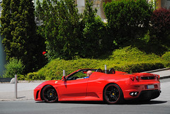 Ferrari F430 Spider (MarcoT1) Tags: austria spider sterreich am nikon ferrari f430 velden wrthersee d3000 sportwagenfestival