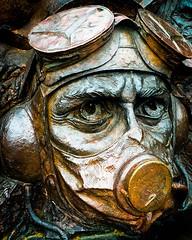 Battle of Britain - Determination (frankshepherd2) Tags: memorial statue bronze aircombat skies warplane fighterpilot britain hurricane spitfire worldwartwo battleofbritain history london wow historic british bright