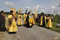A cross procession from the village of Nikolskoe to the village of Adamovka / Крестный ход из Никольского в Адамовку (50)