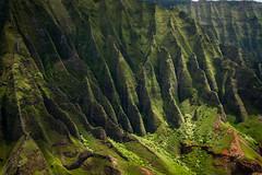 Napali Coast Fins (MSargePhoto) Tags: blue hawaii coast helicopter kauai tours napali