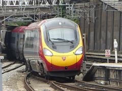 Virgin Trains 'Pendolino' arrives at London Euston (4/7/16) (*ECMLexpress*) Tags: west london coast trains class virgin emu euston 390 pendolino wcml