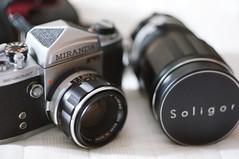 Miranda Sensomat and Soligor 200mm lens (rolandmks7) Tags: sonynex5n miranda soligor sensomat freelens freelensed freelensing 5cm f18