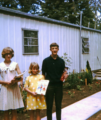 Readers (sundogrr) Tags: girls boy home mobile sisters children reading brother books siblings dresses 1960s