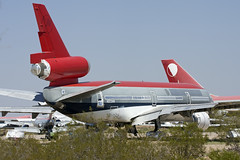 ex-Northwest DC-10 at Pinal Air Park (atg3v) Tags: arizona usa northwest tucson boneyard dc10 mcdonnelldouglas pinal threeholer pinalairpark mzj