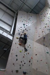 Climbing2 (Kerrie Lynn Photography (Sugaree_GD)) Tags: rock wall healthy exercise climbing fitness nottakenbyme cameraphonepic sugareegd delawarerockgym