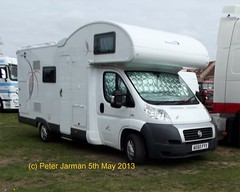 AE60 FYY (Peter Jarman 43119) Tags: fiat motorhome peterborough truckfest ducato