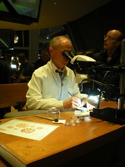 A watchmaker at work (go trotting) Tags: fair luxury watchmaker baselworld