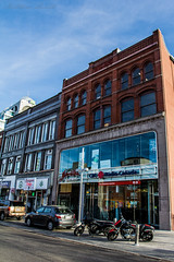 The Simpson Block (Matt M S) Tags: street ontario west building brick coffee bar radio canon one office downtown king factory space kitchener historic beam cbc block taste simpson kw 117 renovated matter the 1895 canda kitchenerwaterloo 60d kwawesome