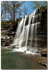 ROCK GLEN FALLS (_Val W) Tags: ontario colour sunny blueskies goodtimes naturesfinest aperfectday pentaxk10d valwest waterfallsofontario imgp6422