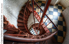 Cape Hatteras Lighthouse Stairs – (HDR/Tone-Mapped) (jwvraets) Tags: lighthouse stairs spiral nikon gimp hdr capehatteras luminance nikkor1224mm qtpfsgui d7100