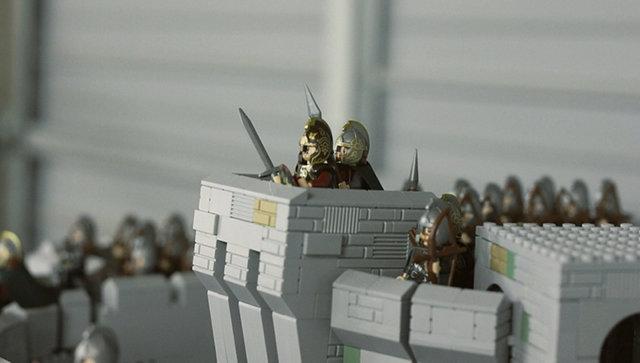 有神快拜!超級壯觀的LEGO 聖盔谷之戰!