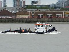 Driftwood II (kenjonbro) Tags: uk england london boat ship riverthames kenjonbro fujifilmfinepixhs50exr