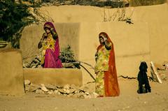 Sand Life... (dsaravanane) Tags: life street portrait woman india colors girl village feel streetlife age chennai jaisalmer rajasthan villagegirls cwc saravanan chennaiweekendclickers dsaravanane saravanandhandapani yesdee yesdeephotography