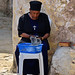 Nun in the Somalian monastery in Jerusalem
