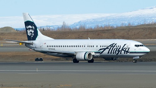 Alaska Airlines Boeing 737-400 N708AS