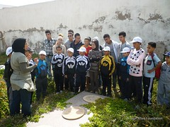 12 May - visit to Christian and Jewish cemeteries 6 (High Atlas Foundation) Tags: cemeteries cemetery community respect tolerance jewish coexistence development essaouira cultural sustainable preservation fha haf civilsociety jewishmuslim capacitybuilding participatorydevelopment