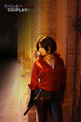 Ada Wong (RE6) (Ae-Chan) Tags: red girl ada cosplay evil cosplayer wong resident re6 aechan