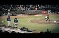 Baseball Game 1 (OC Photographie) Tags: park usa cinema game america canon movie t coast us team san francisco photographie baseball united north côte theme giants states oc nord unis amérique etats at