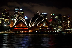 Opera House (John Pearson) Tags: water night canon john photography eos photographer image library stock sydney australia photograph pearson imagebank ajp licensed stockphotography royaltyfree johnpearson rightsreserved authorjohnpearson