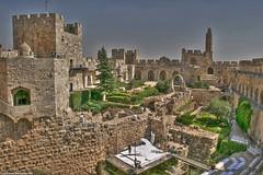 Le Minaret de la citadelle (MUQADDASI) Tags: old city architecture muslim islam jerusalem mosque arabic quarter islamic palestinian   aqsa quds   silwan                qouds  palestine