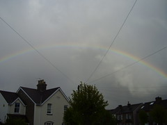May2013 229 Rainbow (monica_meeneghan) Tags: sky house spring rainbow linescurves artofimages