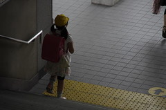 On the way back  from school (Cozy66) Tags: girl japan child pentax candid  k5 ordinary