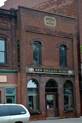 Bardon's building 1884 - Ashland, WI (turn off your computer and go outside) Tags: building brick stone wisconsin ashland wi 1884 bardons