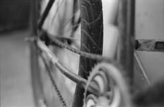 38 (Damiao Santana) Tags: bw bike bathroom nikon iso400 bicicleta pb d76 ilfordhp5 400 bici hpscanjet recife analogue ilford fm2 selfdevelop ds001 g4050 201305 firstdevelopment