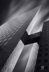 Sharp light (S.D.G Photographie) Tags: city longexposure urban blackandwhite bw white black paris france building art architecture contrast photoshop photography town blackwhite artist cityscape fineart fine perspective creative ladefense architectural creation lee combine 7d series concept conceptual paysage defense franais ville combination fineartphotography urbain sdg poselongue leefilter leefilters creativeedit bigstopper 16stops sebastiendelgrosso