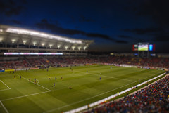 RSL (DylanMay2) Tags: city lake real utah soccer salt shift tilt rsl tiltshift