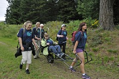 Energized (PowellRiverMobilityOpportunitiesSociety) Tags: family friends nature sunshine river coast back teams walks country trails together powell society mobility opportunities disability accessibility friendships trailrider