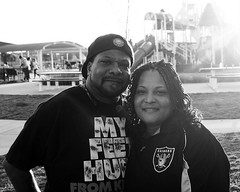 Bro and Sis in B&W_0036 (2HandzUp1913) Tags: park love sister brother bbq sis bro familytime raidernation silverblack