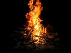 Summer Nights (SurFeRGiRL30) Tags: camping orange hot fire bonfire flickrandroidapp:filter=tokyo